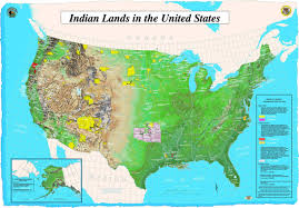 Large Map Of United States by Map Of Indian Lands In Us U2022 Mapsof Net