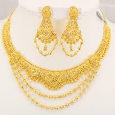 gold sets images 22 carat indian gold fancy necklace set 61 7 grams gold forever