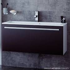 Double Vanity Basins Mereway Oakland Designer Wall Hung Double Basin Bathroom Vanity