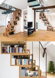 under stairs shelving 50 creative ways to incorporate book storage in around stairs