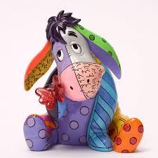 winnie the pooh eeyore figurine disney by britto freak