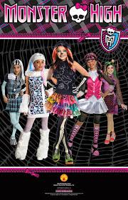 Monster High Doll Halloween Costumes by Amazon Com Monster High Draculaura Costume Small Toys U0026 Games