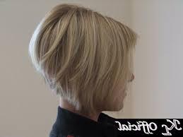 short brown hair styles back view women medium haircut