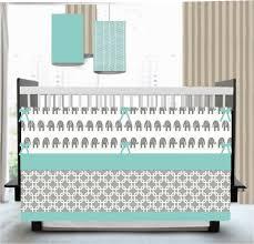 Gray Chevron Crib Bedding Aqua Gray Chevron Crib Bedding Syrup Denver Decor Special Gray