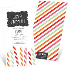 party invitations custom designs from pear tree