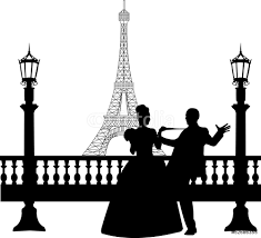 wedding couple in front of eiffel tower in paris silhouette wall wedding couple in front of eiffel tower in paris silhouette wall sticker