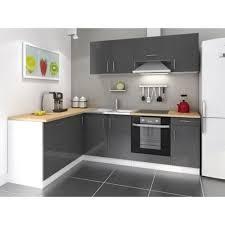 cuisine a monter soi meme cuisine complete 280 cm laqué gris cosy pas cher achat vente
