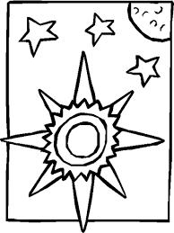 holy spirit interactive kids coloring pages god created sun