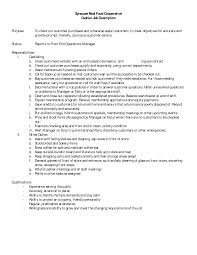 Grocery Store Resume Vault Teller Job Description Resume Curriculum Vitae Samples For