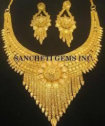 imitation gold jewelry costume fashion jewelry sancheti gems