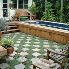 Swimming Pool Ideas For Small Backyards by Backyard Swimming Pools And Swim Spas For The Home Pinterest
