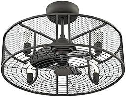 Ceiling Fan With Cage Light Ceiling Fan Caged Ceiling Fan With Light Lowes Ceiling Fan With