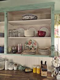 open shelves kitchen design ideas kitchen affordable vintage kitchen with open shelves and wooden