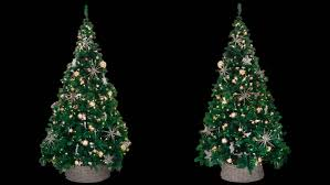 Christmas Decorations Video Lights by Beautiful Christmas Tree Traditional Decorations Lights Stock
