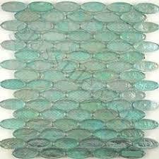 Splashback Tile Temple Coast  In X  In X  Mm Glass Mosaic - Sea glass backsplash