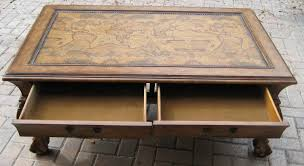 bibi moves map coffee table matches wood chest drawer thing