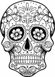 halloween coloring sugar skull halloween coloring free