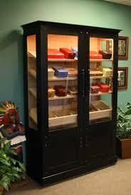 Display Cabinet With Lighting Custom Cigar Humidors Humidor Cabinets Cigar Cabinets