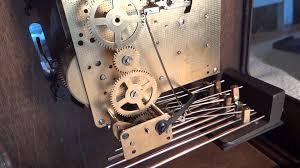 Howard Miller Chiming Mantel Clock Demo Of Howard Miller Triple Chime Mantle Clock Model 4998 Youtube