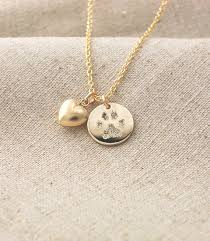custom necklace charms your pet s actual paw print custom personalized pendant and puffed