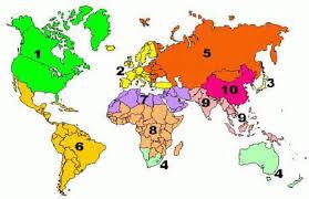 fema region map information for those living in fema region 4 australia oceania