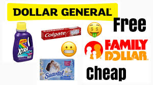 dollar general family dollar free items or cheap using digitals