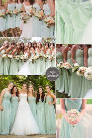 bridesmaid dress colors the 25 best mint green bridesmaid dresses ideas on