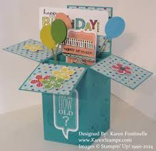 pop up birthday card birthday pop up box card sting with