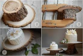 tree stump cake stand diy creative cake stands ideas so creative things creative