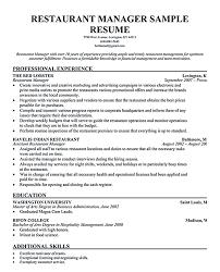 restaurant manager resume template restaurant manager resume template 62 images resume sle