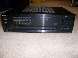 sony home theater 2000 watts sony ta ax380 stereo receiver garbage picked youtube