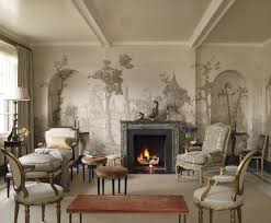 Living Room Wallpaper Home Depot Los Angeles Designer Suzanne Rheinstein U0027s Living Room The Sepia