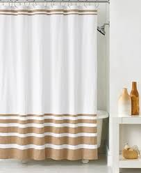 Kate Spade Striped Shower Curtain Hotel Collection Gradient Stripe Shower Curtain Shower Curtains