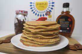 Pancake Flour Light And Fluffy Almond Flour Pancakes