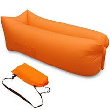 Air Filled Sofa by Fast Inflatable Air Lounger Sleeping Bag Bed Sofa Hangout Lazy Bag