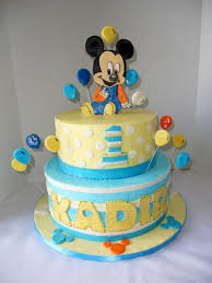 mickey u0027s first birthday sweet cakes
