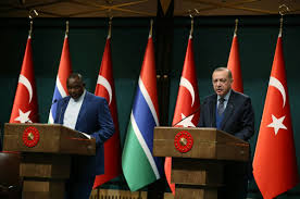 Gambia Flag Gambia The Istanbul Car Crash Barrow In His Own Words An