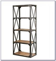 Metal And Wood Bookshelves by Wood Narrow Bookshelf Bookcase Home Decorating Ideas 0ao3pelyke