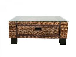 coffee table rattan coffeeble with ottomansrattanbles and end