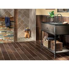 Exotica Espresso Wood Plank Porcelain Tile 6in x 24in