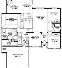 Split Floor Plan by Home Design Home Plans Designs 2 Floor House Plans Swawou