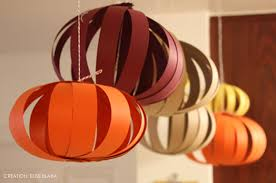 thanksgiving paper lanterns at home with vallee
