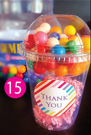 gumball party favors roller skating party favor ideas