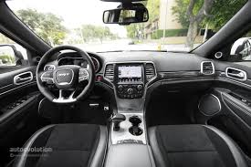 jeep dashboard 2014 jeep grand cherokee srt review autoevolution