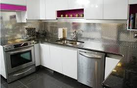 steel kitchen backsplash most choice stainless steel kitchen backsplash ideas grey distressed