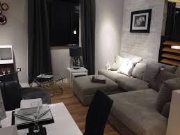next black grey white modern lounge with stratus ii grey