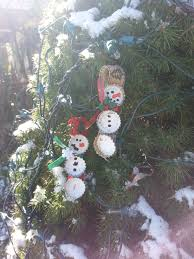 12 days of holiday crafts bottle cap snowmen the new mrs gohla