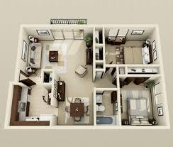 52 creative two bedroom apartment plans ideas round decor