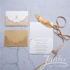 unique wedding invitation modern metallic brown unique wedding invitation cards