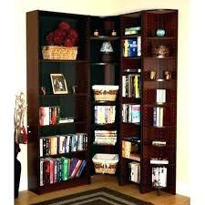 Corner Bookcase Wood Corner Book Shelf Cherry Wood Corner Bookcase Corner Bookshelf